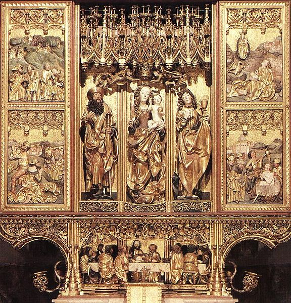 Slovensko zaujímavosti - najvyšší oltár