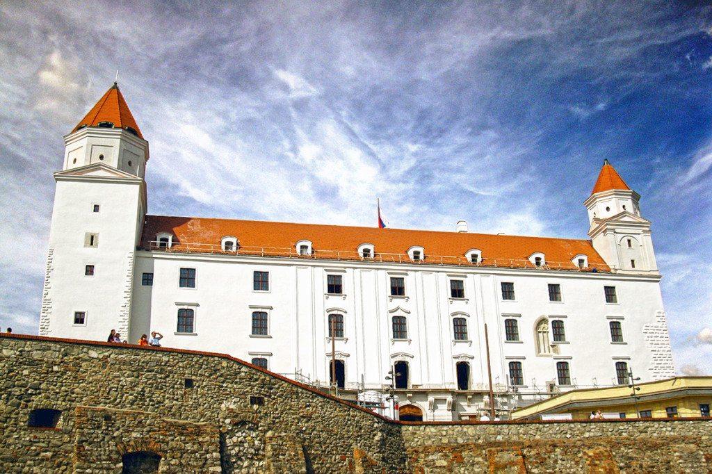 Slovensko - Bratislavský hrad