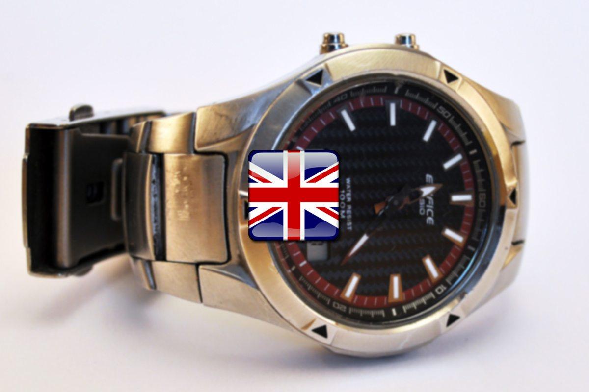 Time - čas po anglicky