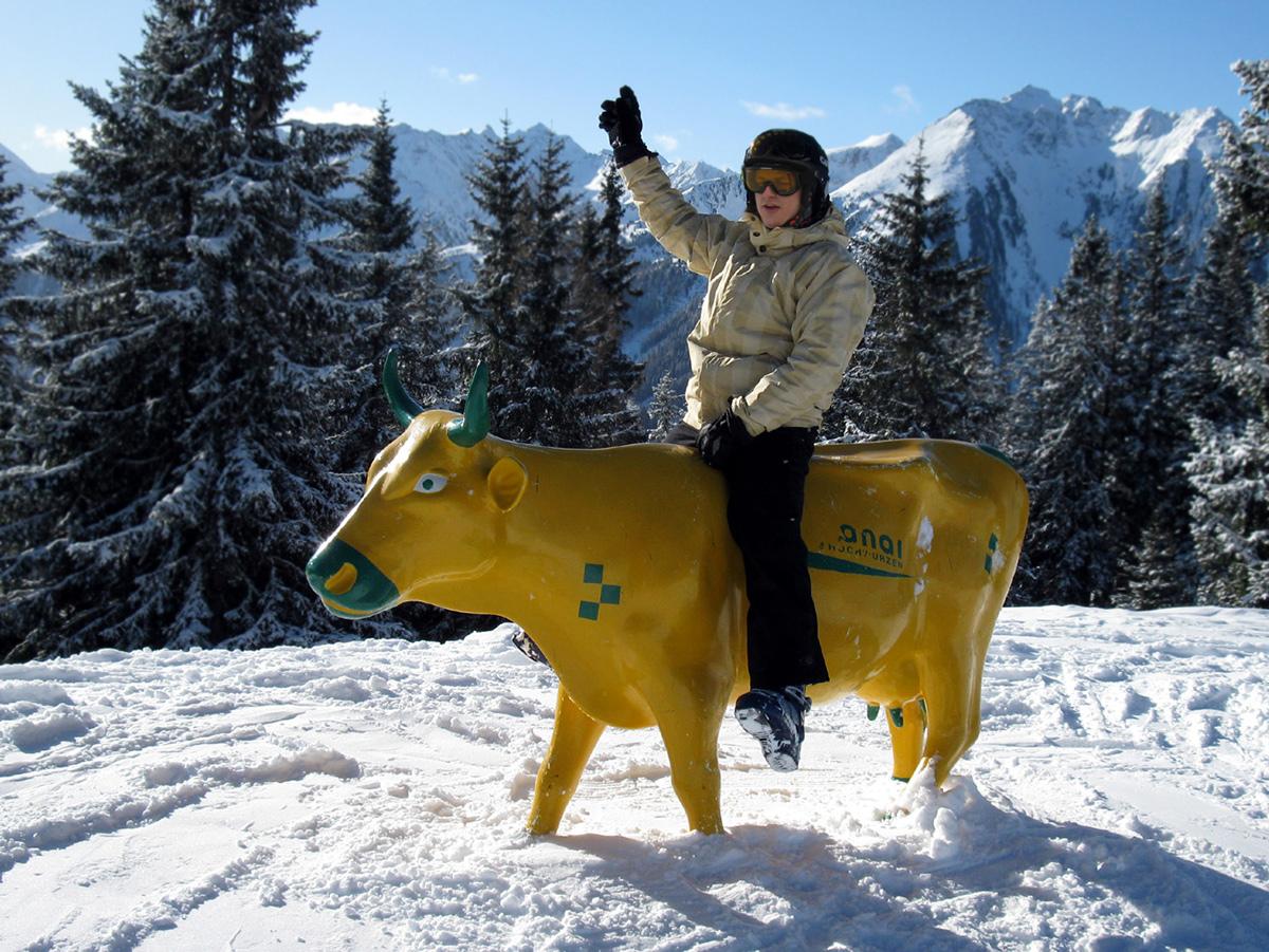 Jano - snežný kovboj