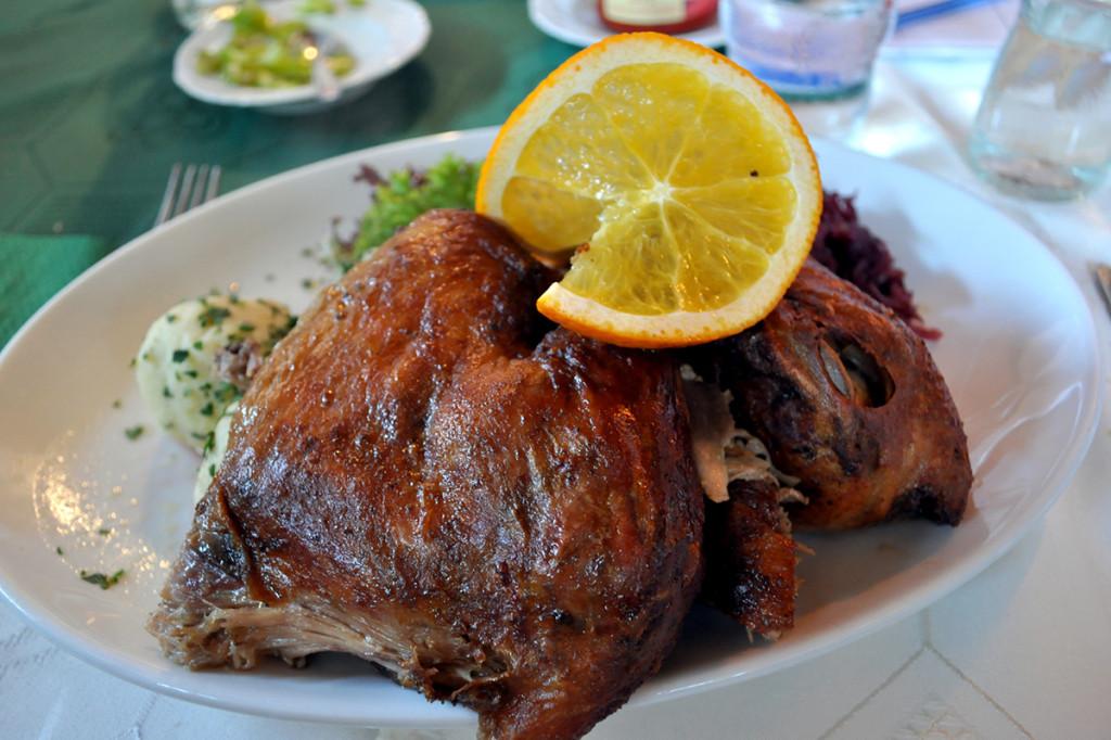 Pečená kačica - Fertod