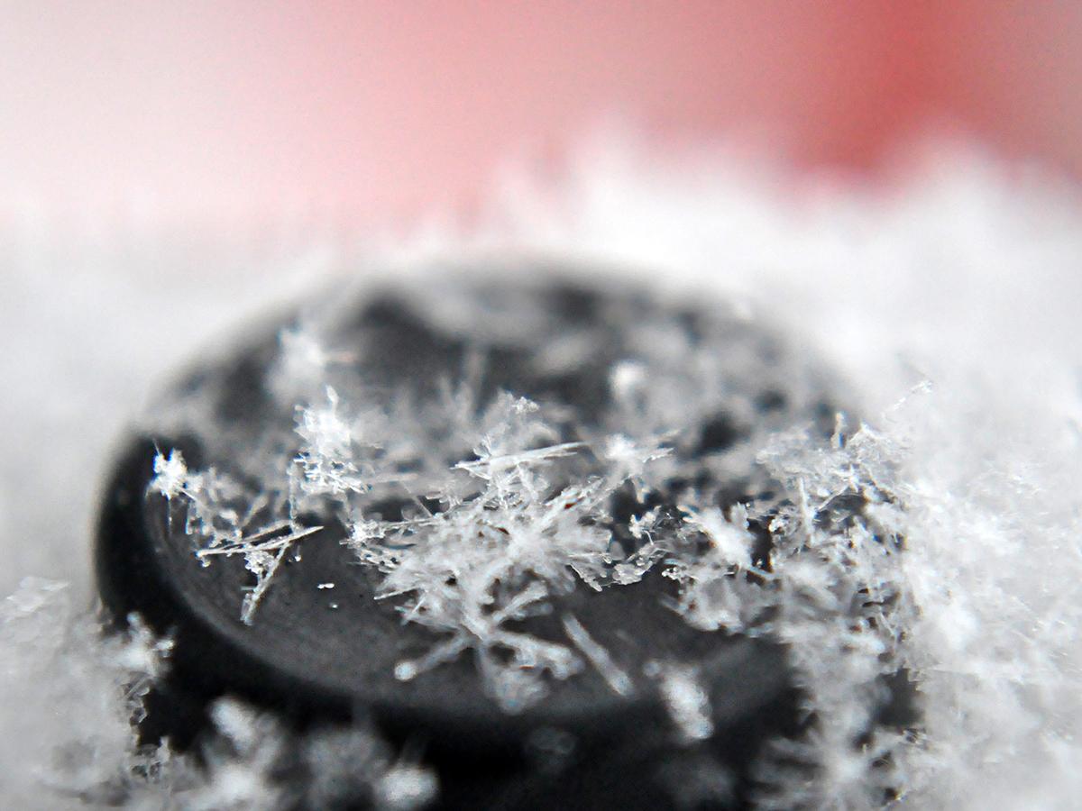 Mária - vločky snehu