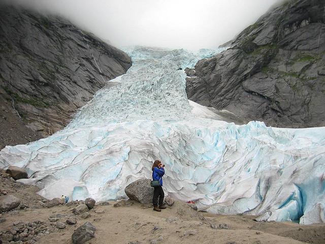 Nórsko - ľadovec