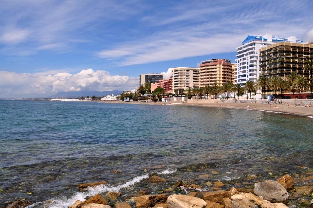 pláž, Marbella