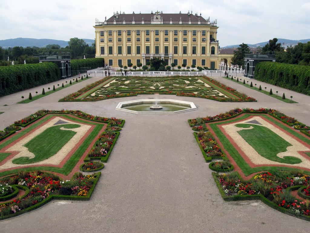 Rakúsko Schonbrunn