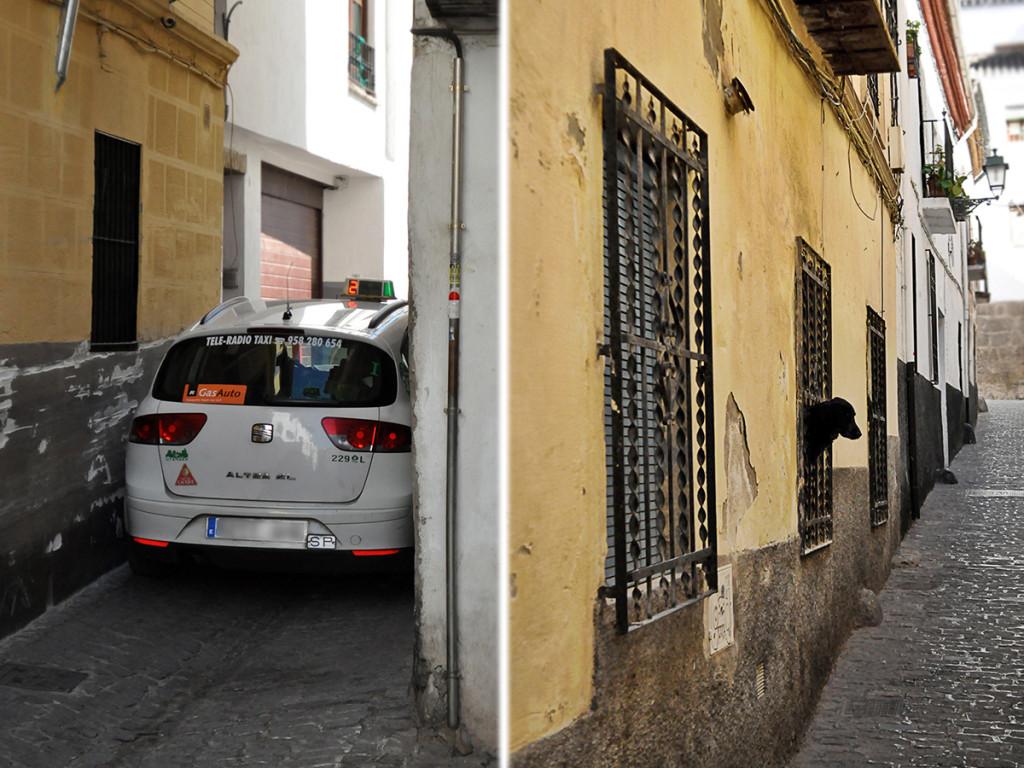 Uličky v Granade