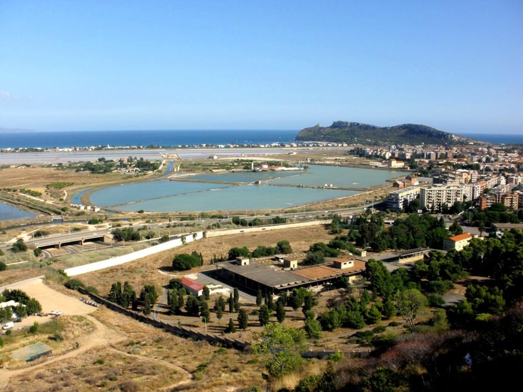 vyhliadka Cagliari