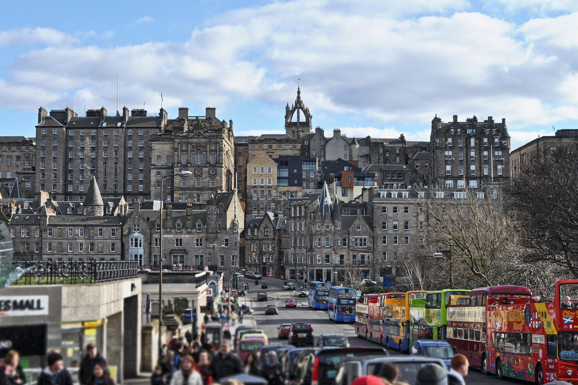 Edinburgh centrum