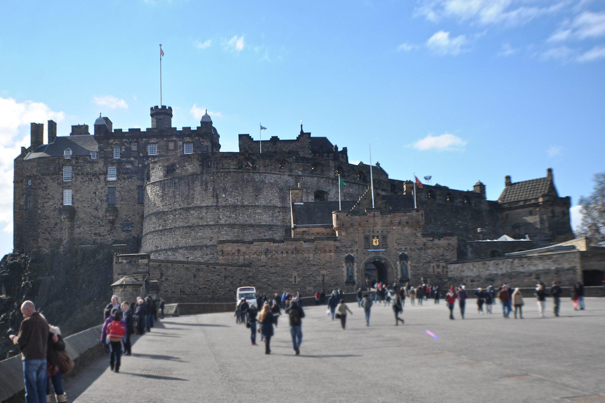 Škótske hrady