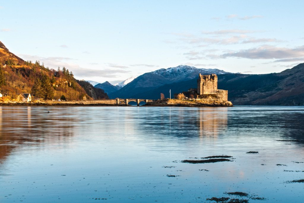 škótske hrady - Eilean Donan