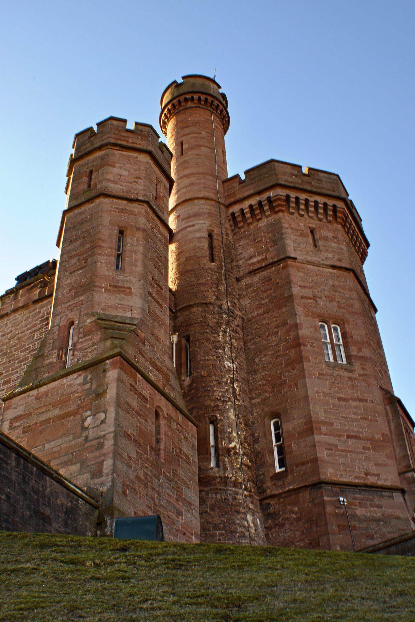 Škótske hrady - Inverness