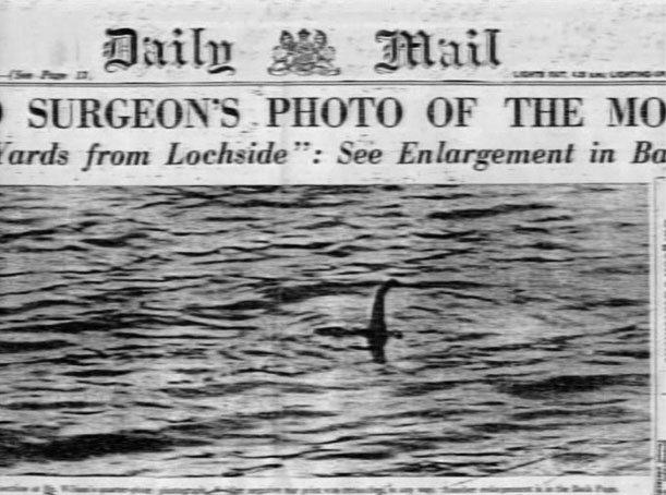 nessie - príšera z Loch Ness