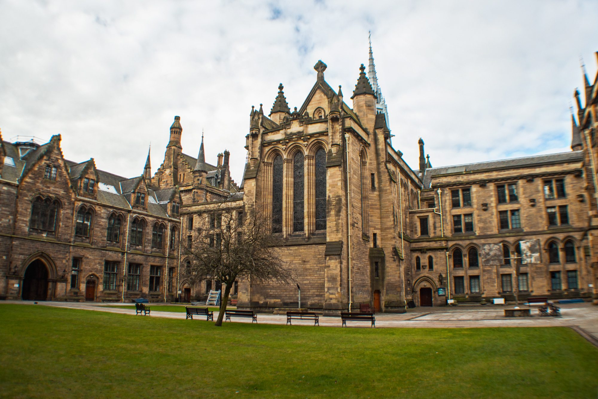 Univerzita Glasgow námestie