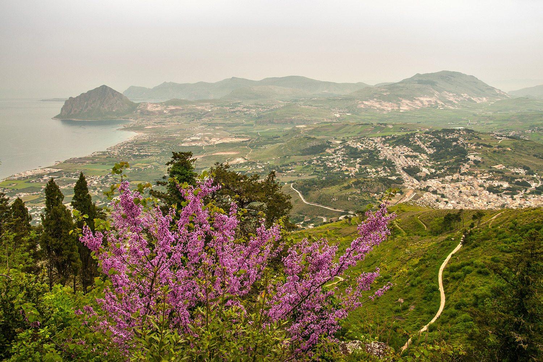 Erice výhľad, Sicília