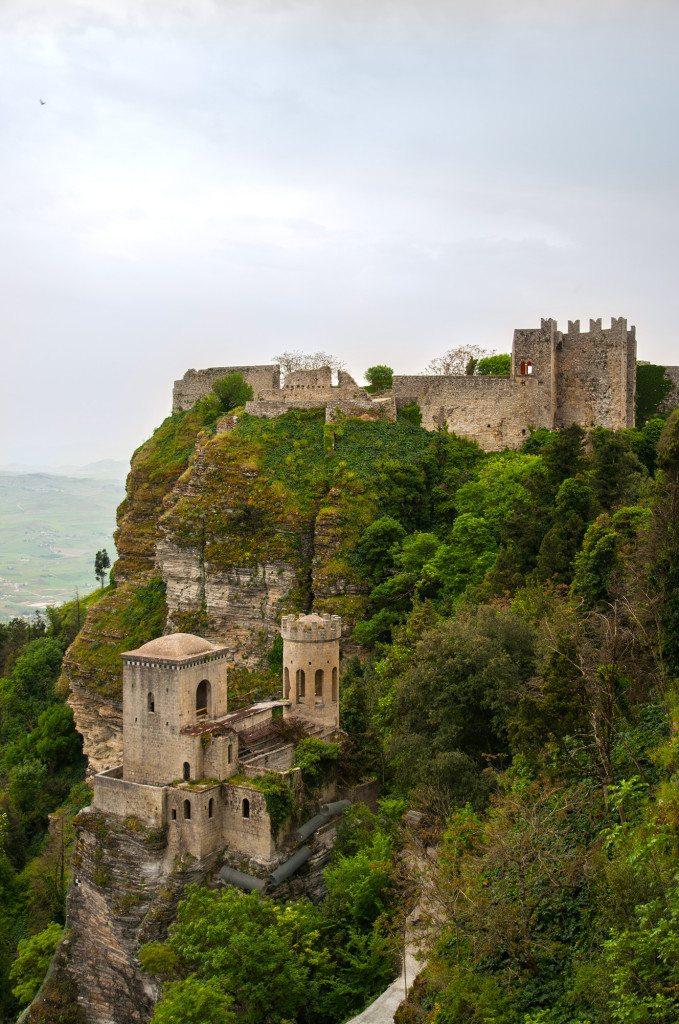 Sicília, hrad v Erice