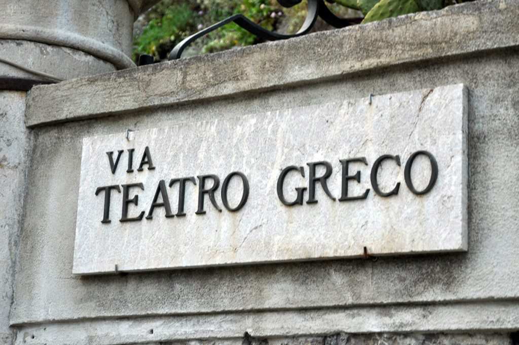 Amfiteáter, Taormina, Sicília