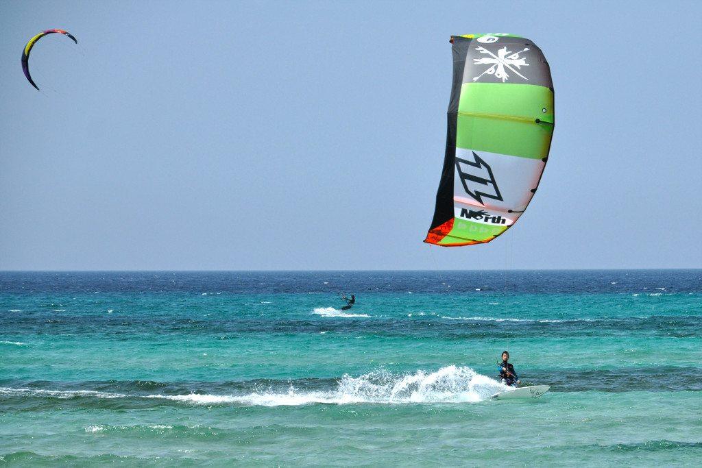 fotky z dovolenky - kitesurfing