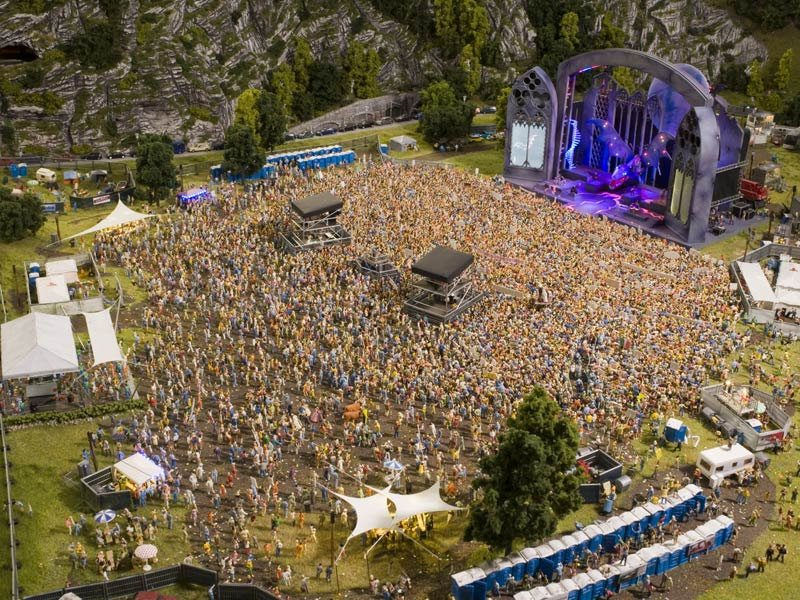 DJ bobo koncert miniatúra
