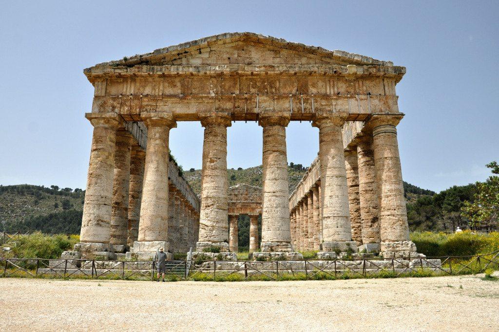 Segesta dórický chrám