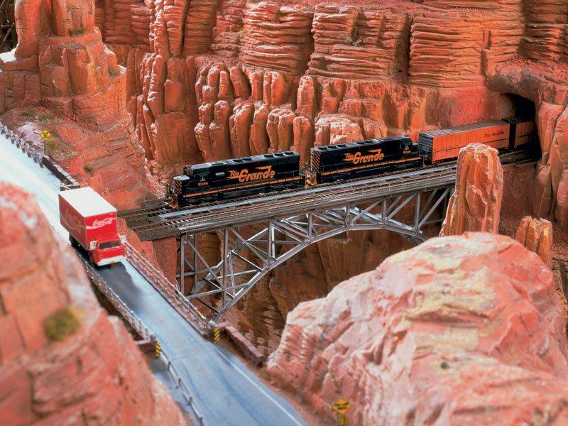 Miniatur Wunderland - Grand Canyon železnica