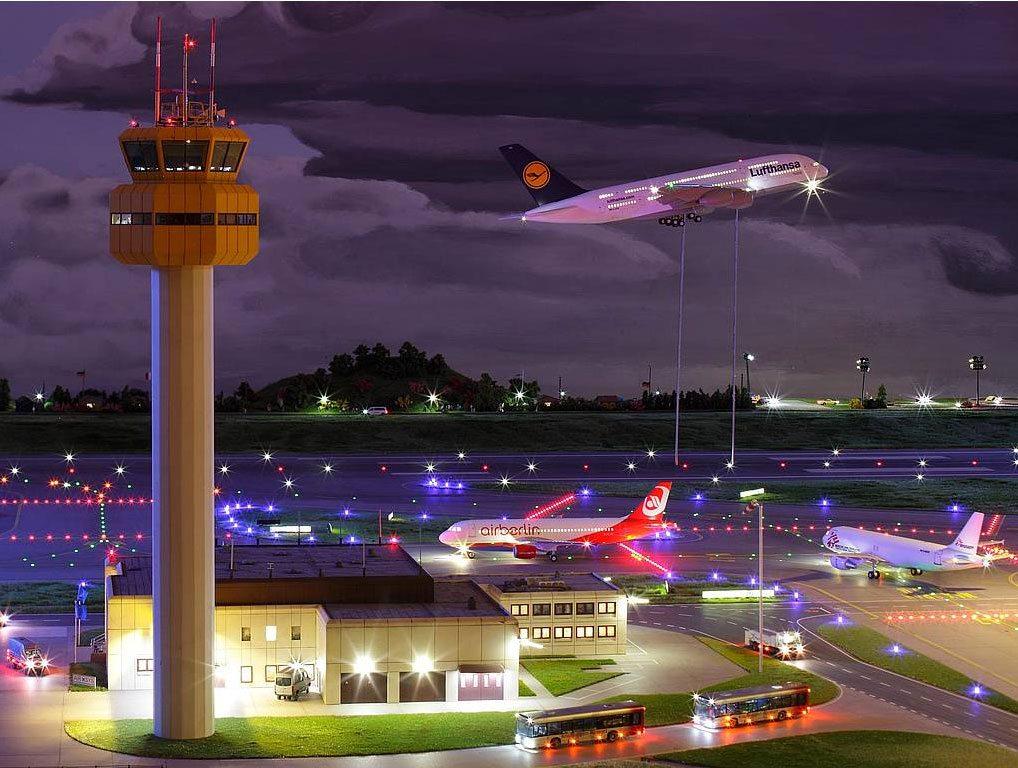 Miniatur Wunderland - najväčší model letiska na svete
