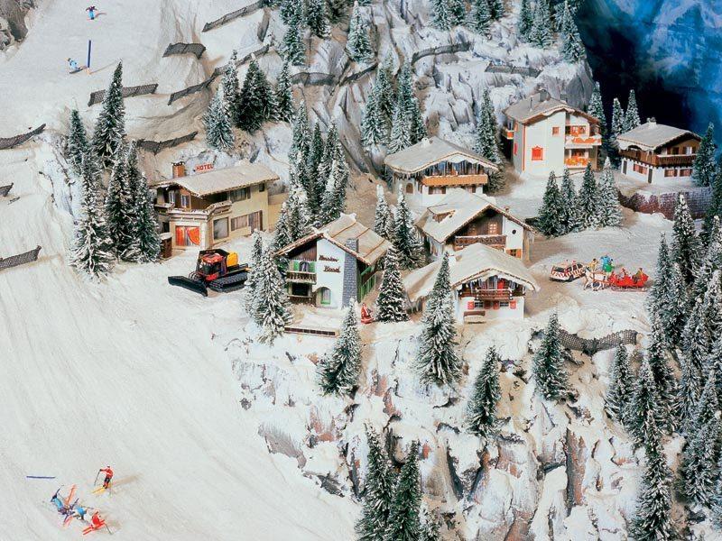 Miniatur Wunderland - Rakúske Alpy