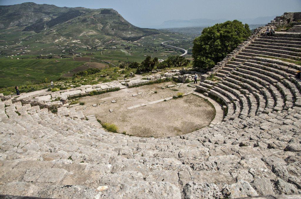 Segesta amfiteáter