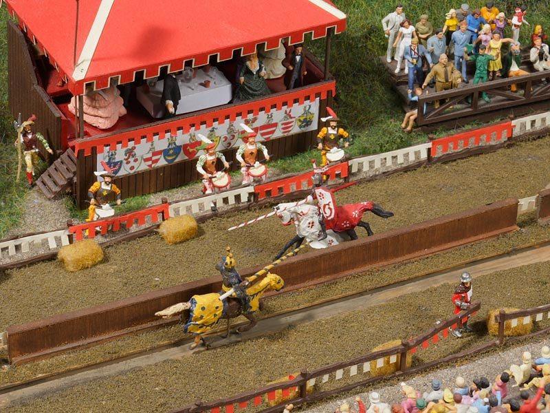 Miniatur Wunderland - Švajčiarsko rytierske zápasy