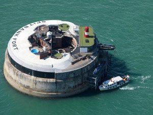 Netradičné hotely - Spitbank Fort