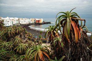 Kanárske ostrovy a sopečný piesok