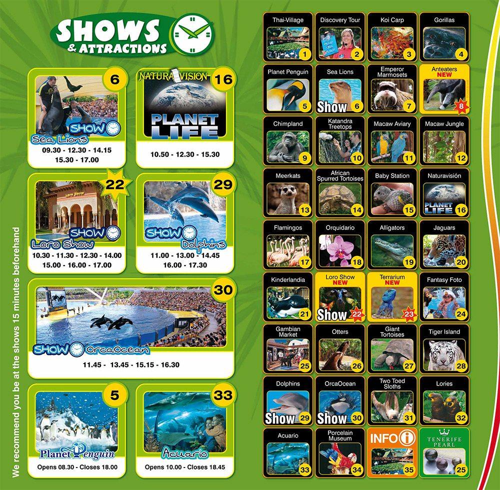 Loro park show program