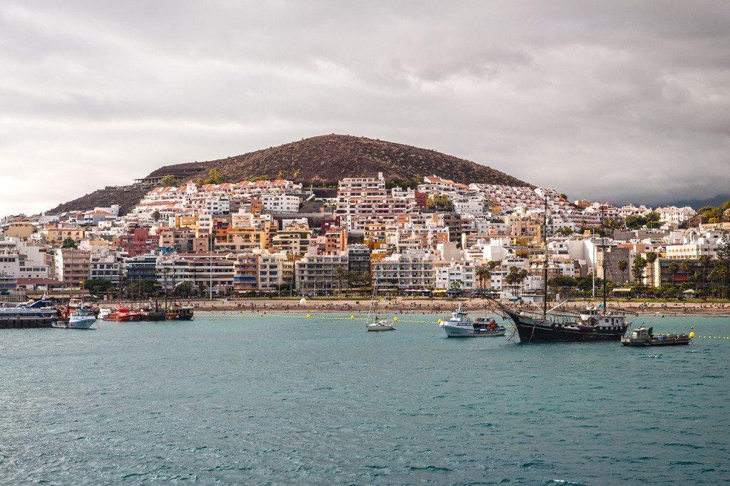 Pláže na juhu Tenerife (Los Cristianos)