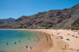 Tenerife - Las Teresitas pláž