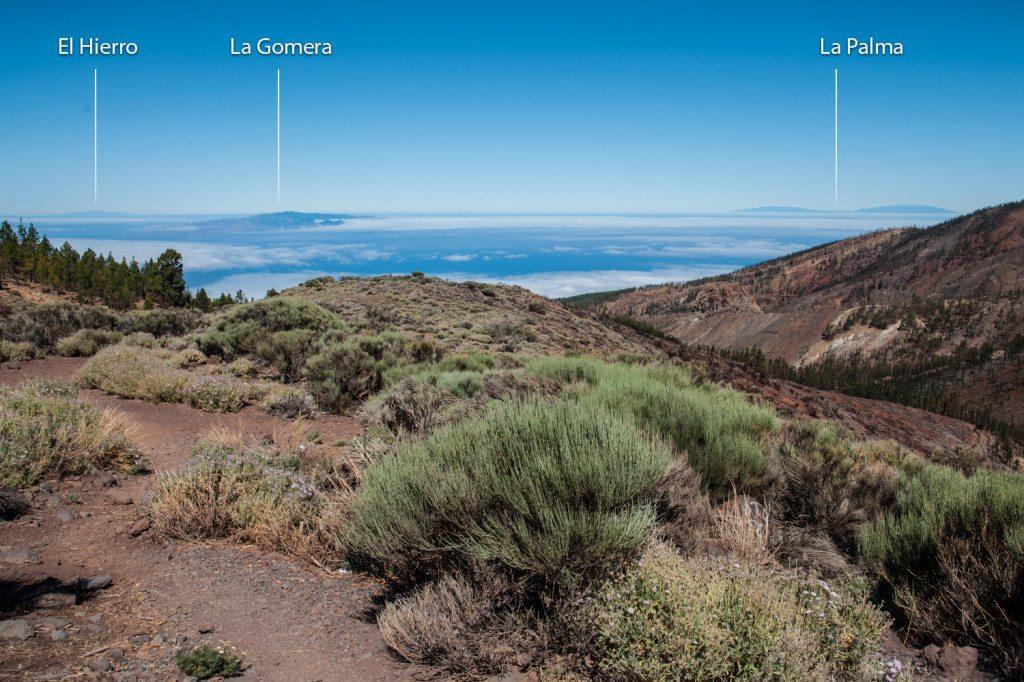 Kanárske ostrovy z Tenerife
