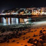 Promenáda na juhu Lanzarote