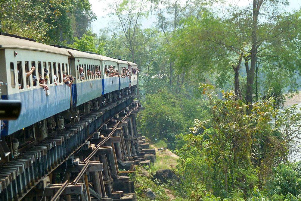 Najzaujímavejšie železnice - Mjanmarsko