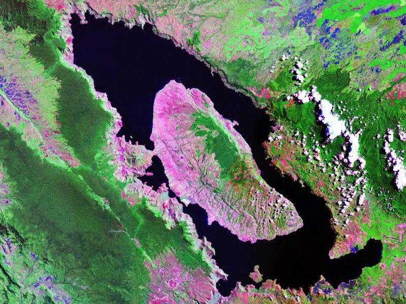Supervulkán Toba, Sumatra