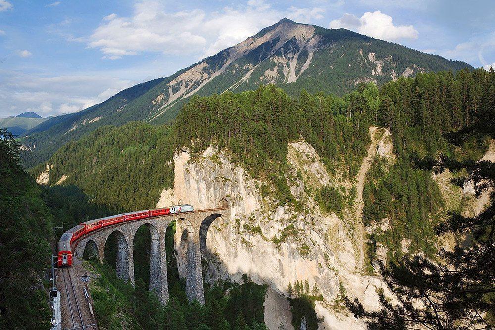 Najzaujímavejšie železnice - Landwasser
