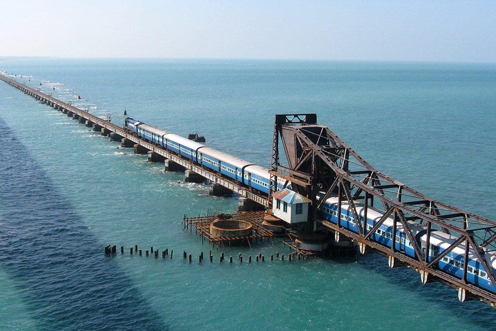 Pamban - železničný most