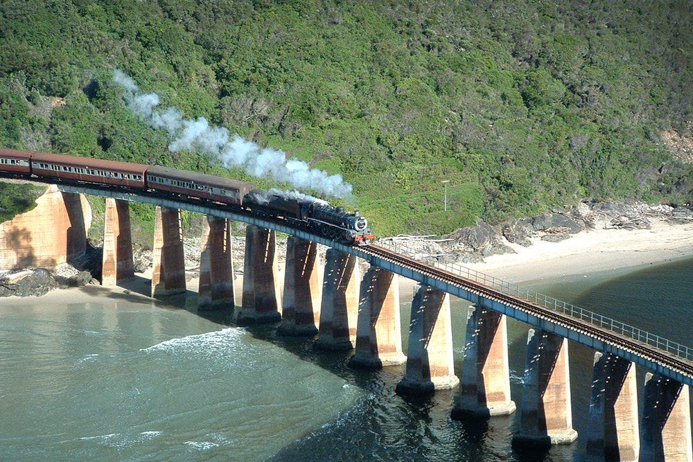 Najstaršia parná železnica v Afrike - Choo Tjoe