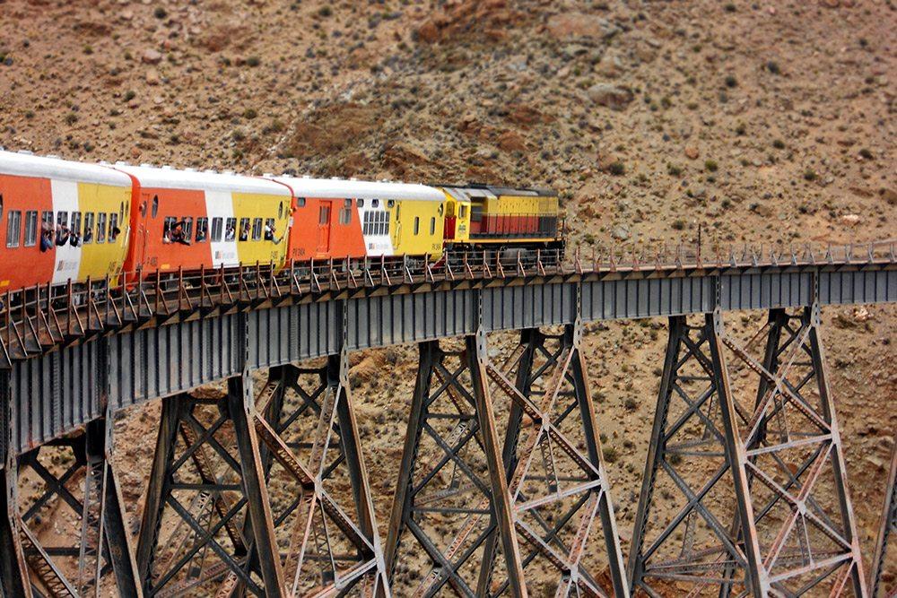 Najzaujímavejšie železnice - Tren a las Nubes, Argentína