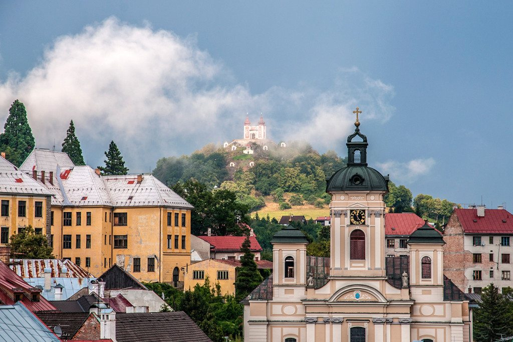 Banská Štiavnica historické centrum