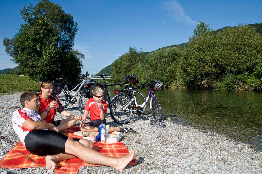 cykloturistika Dolné Rakúsko