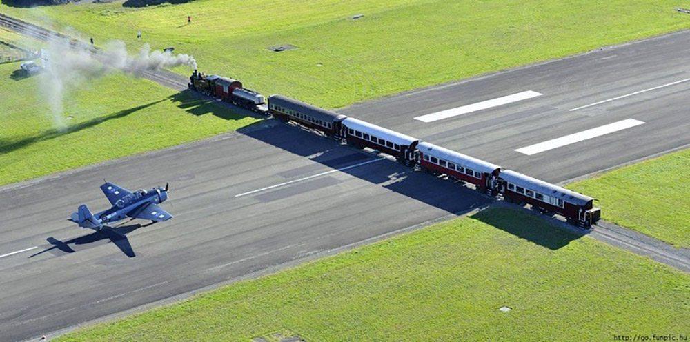 Najzaujímavejšie železnice - Letisko Gisborne