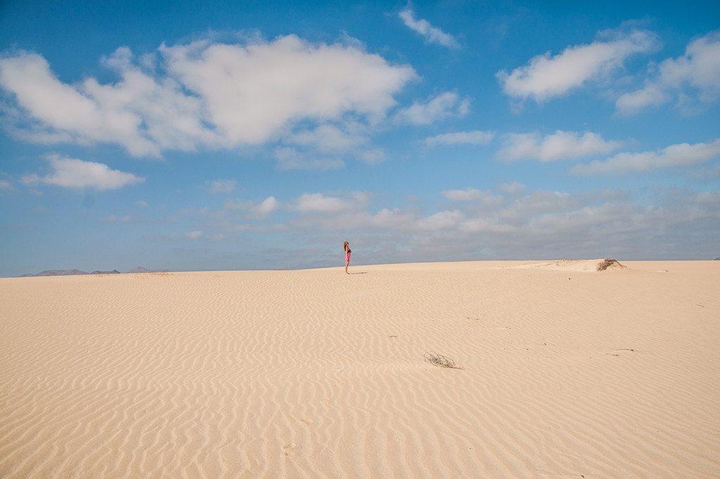 Coralejo, piesočné duny Fuerteventura