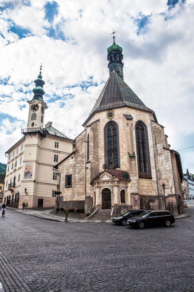 Banská Štiavnica - radničné námestie