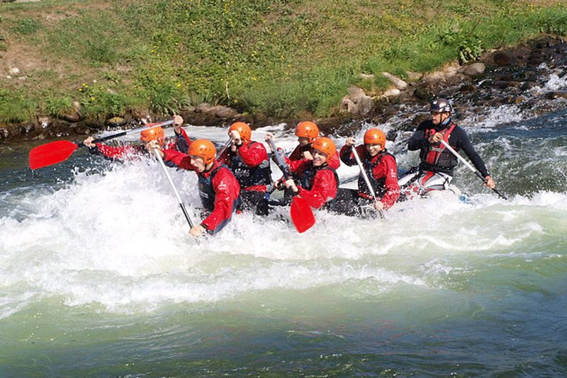 rafting- vodná turistika