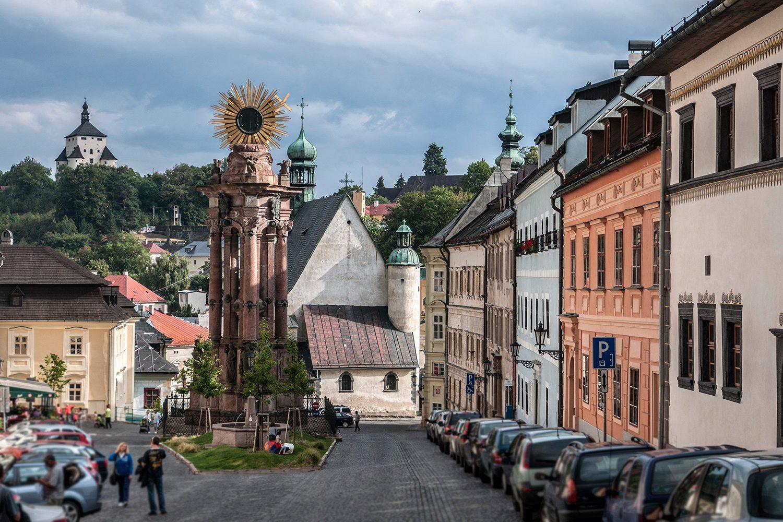 námestie svätej trojice - Banská Štiavnica