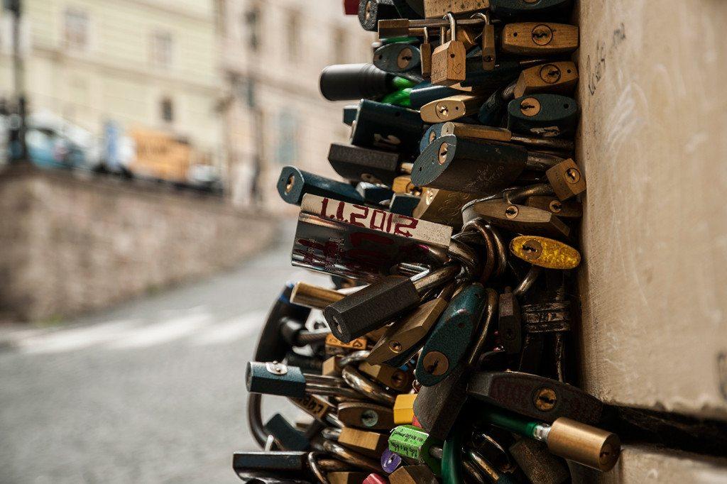 Banská Štiavnica - zámky lásky