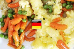 Nemčina pre samoukov - zelenina po nemecky